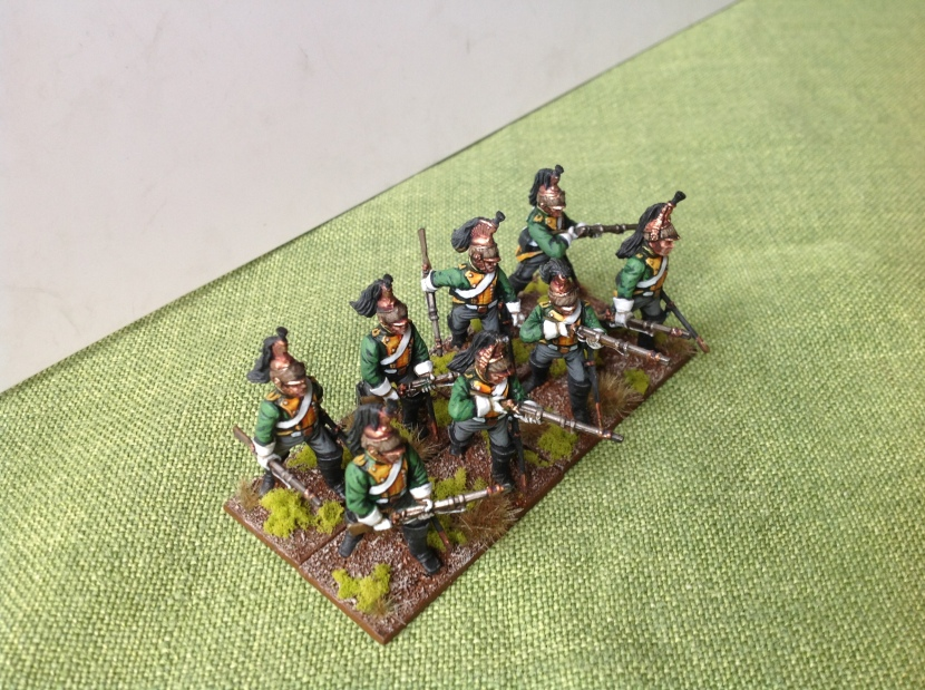 Some Perry Miniatures plastics which are not often seen painted.